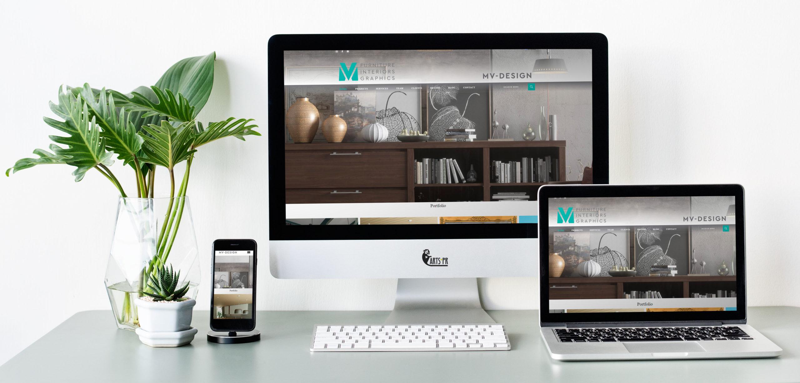 Κατασκευή ιστοσελίδας mv-design